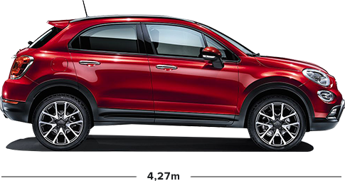 fiat 500x cross suv compromisloze crossover. Black Bedroom Furniture Sets. Home Design Ideas