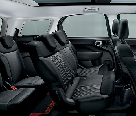Fiat 500L living interieur