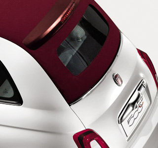 Fiat 500c softtop