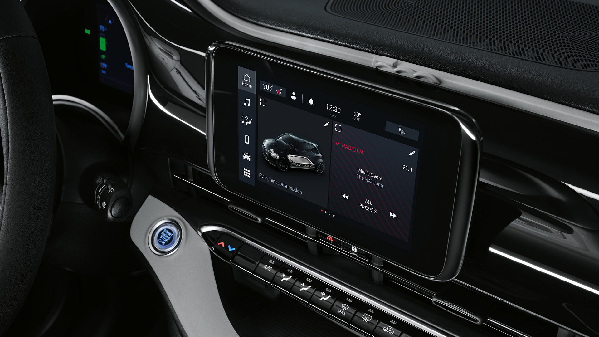 INFOTAINMENTSYSTEEM MET 7-INCH TOUCHSCREEN, DAB+ EN APPLE CARPLAY/ANDROID AUTO™ WIRELESS