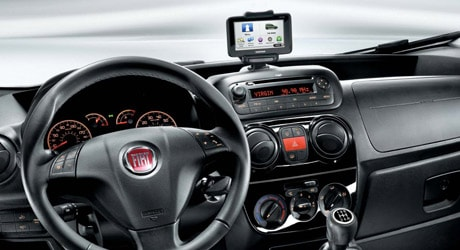 Fiat Qubo dashboard
