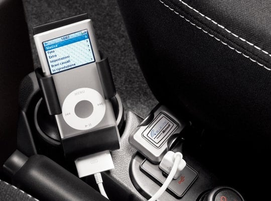 Fiat Qubo ipod dock