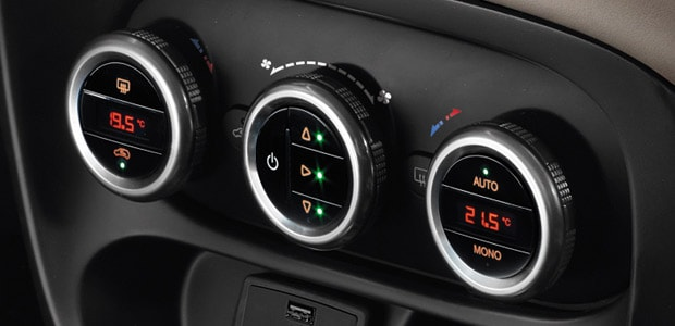 Fiat 500L living airconditioning