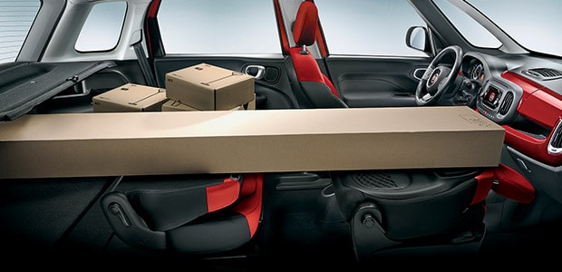 Fiat 500L Pop interieur
